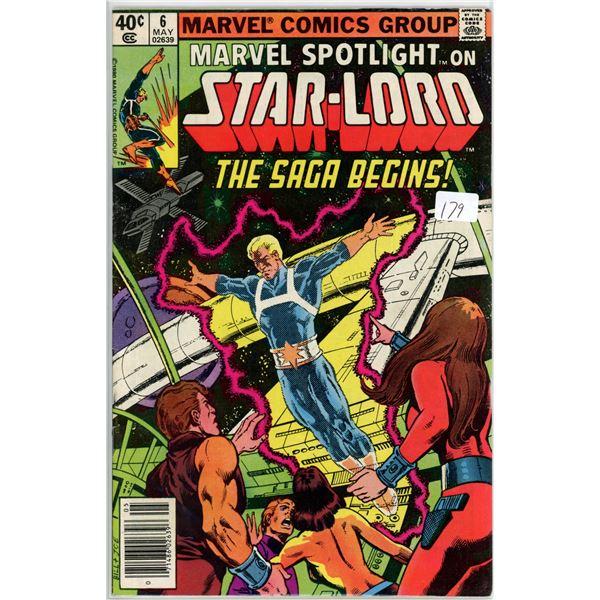 1980's Star-Lord The Saga Begins