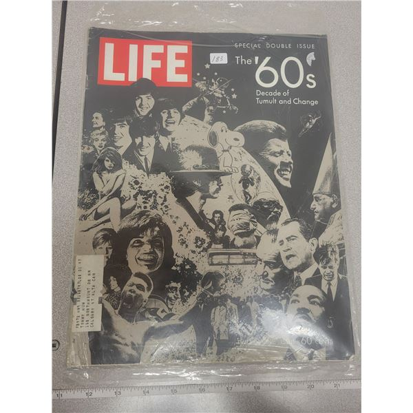 Life Magazine - Two in one issue - The Beatles / JFK