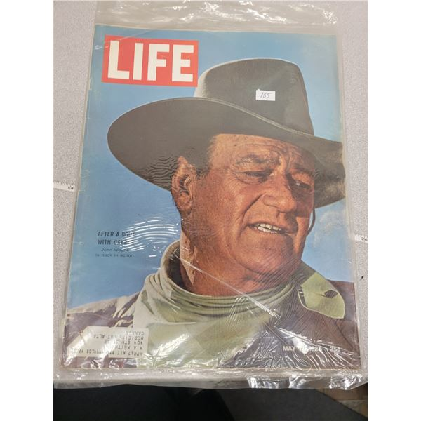 "Life Magazine - May 7th 1965 - John Wayne ""The Duke"""