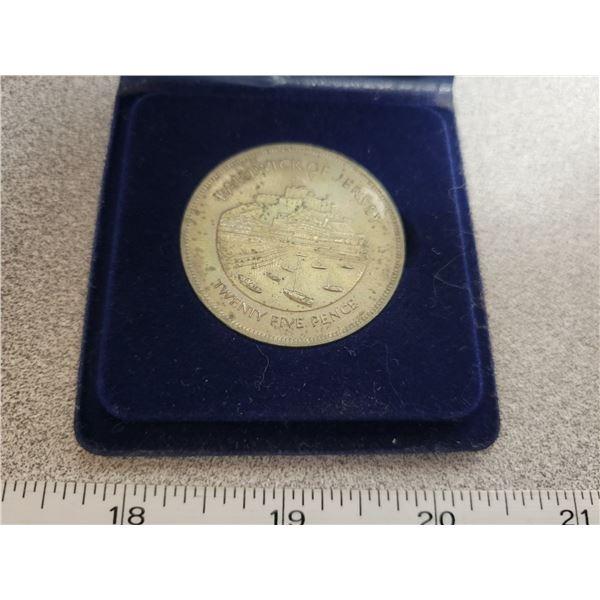 Ballwick of Jersey - twenty five pence