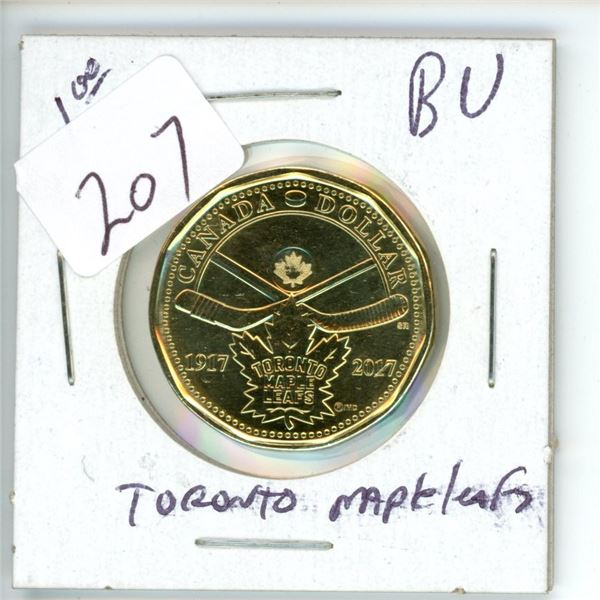 B.U. Loonie - 100 year Toronto Maple Leafs