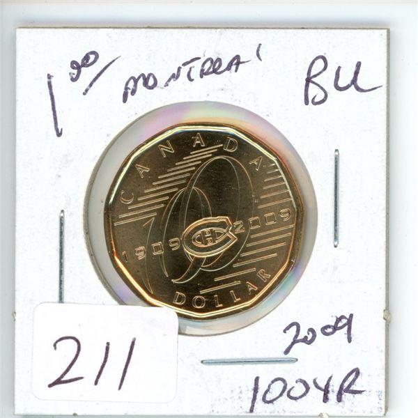 B.U. Loonie 2009 Montreal 100 year