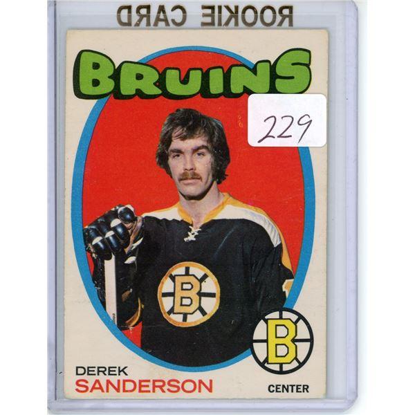71/'72 O-Pee-Chee Derek Sanderson