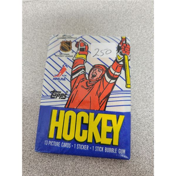 Sakic rookie product - unopened pack