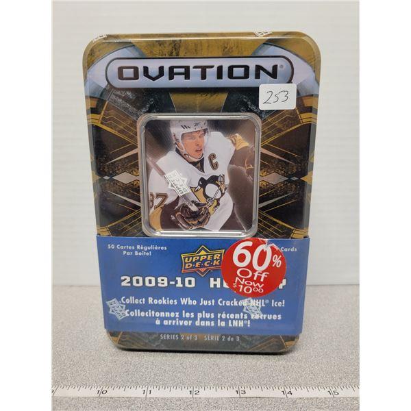 2009 Upper Deck ovation sealed tin - Sidney Crosby