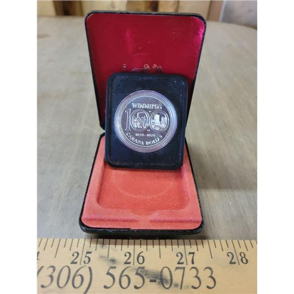 100 year Winnipeg coin