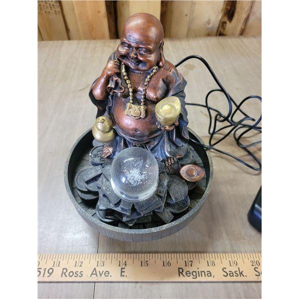 Working Buddah fountain