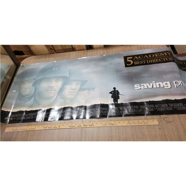 Rare 'Saving Private Ryan'vinyl display