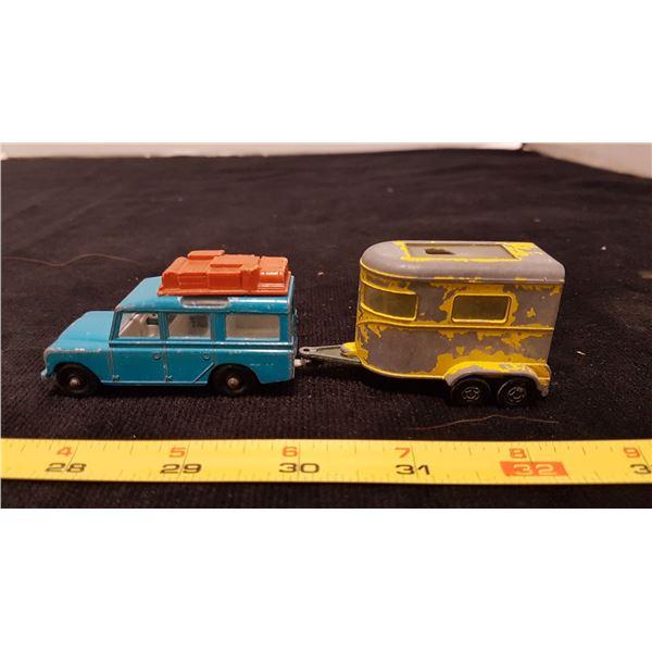 Matchbox Rover & Trailer