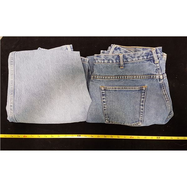 2 Pair 36-32 Mens Jeans