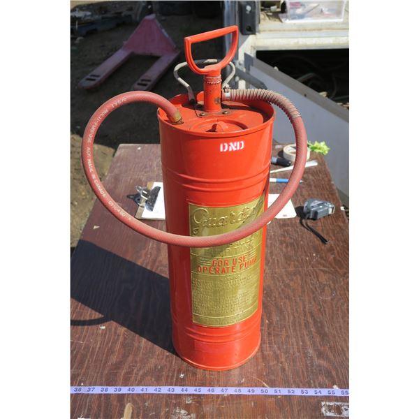 2.5gal Pump Tank Fire Extinguisher