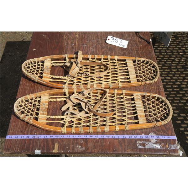 Pair of Vintage Snowshoes