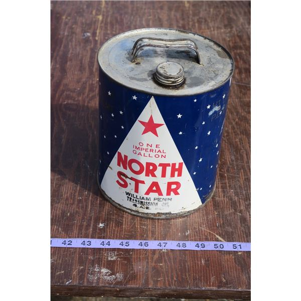 North Star Oil, Partially Full 1 gal.