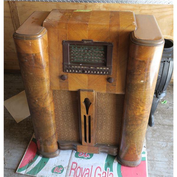 Floor Model Electric Radio