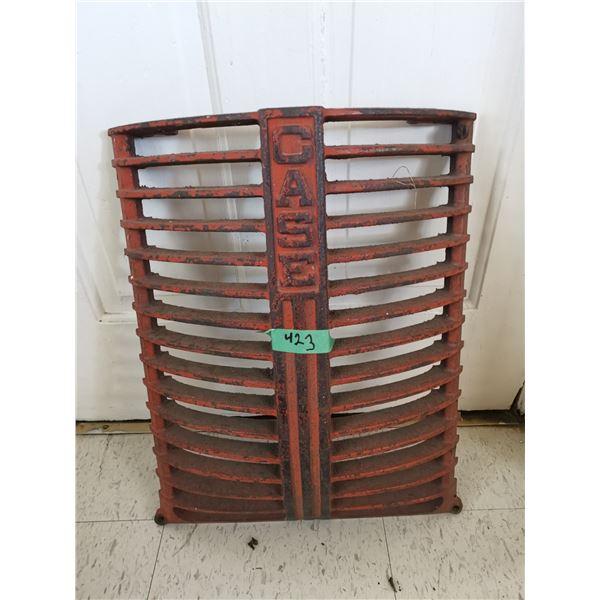 "Antique Case Cast Iron Grill 16""×22"""