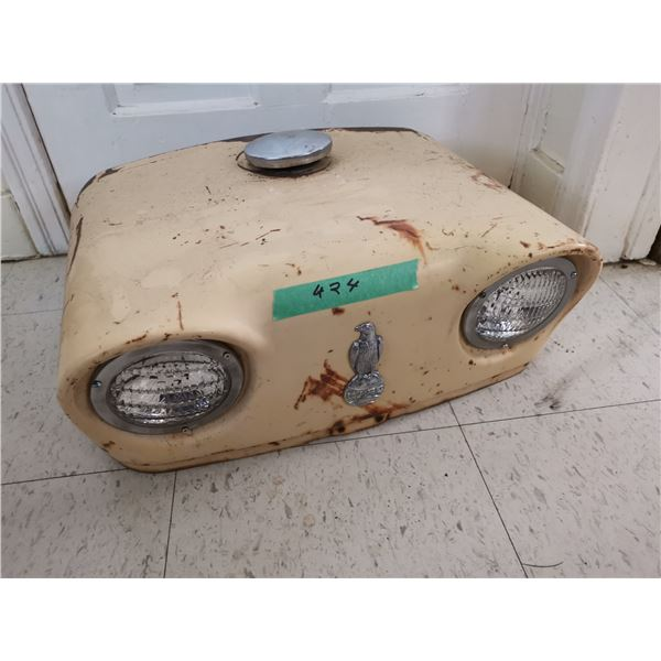 Case Tractor Hood w/ All Emblems