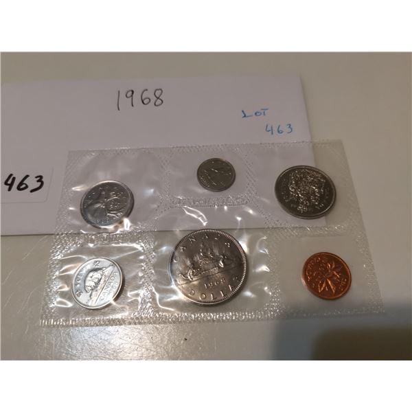 1968 UNC CDN Coin Set