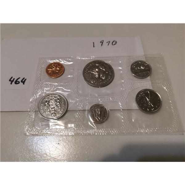 1970 UNC CDN Coin Set