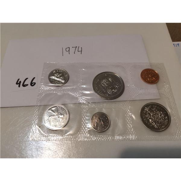 1974 UNC CDN Coin Set