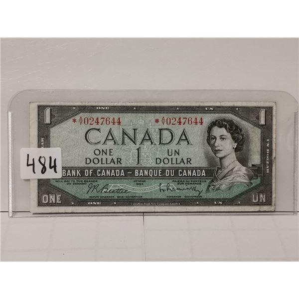 1954 Replacement $1 Bill, AY Prefix