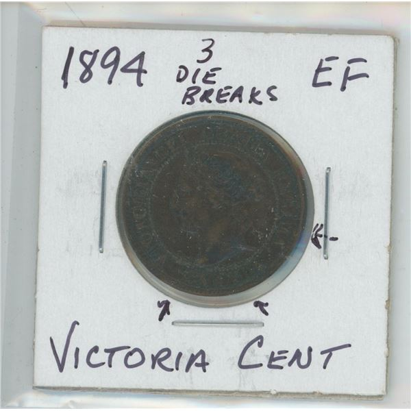 1894 Victoria Large Cent