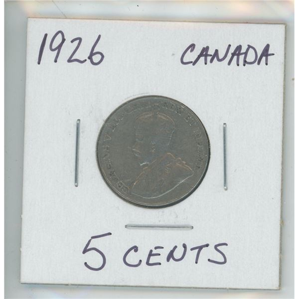 1926 King George 5 Cent