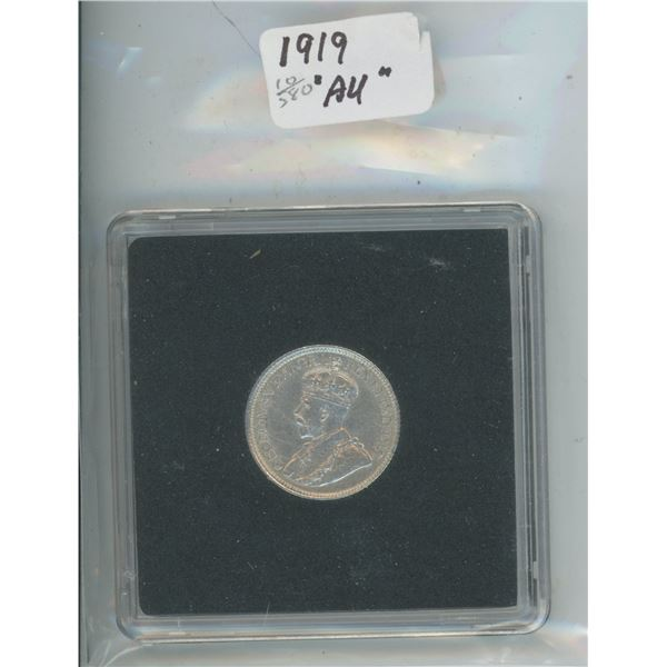 1919 High Grade 10 Cents