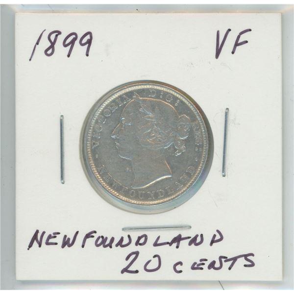 1899 Newfoundland 20 Cents