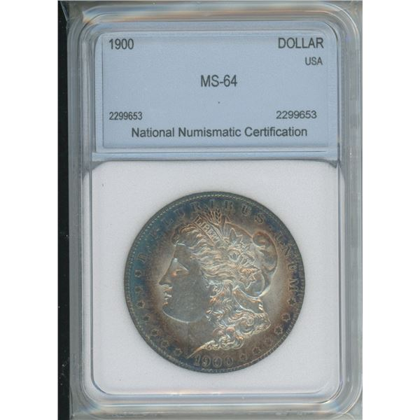 1900 MS - 64 Silver Morgan Dollar