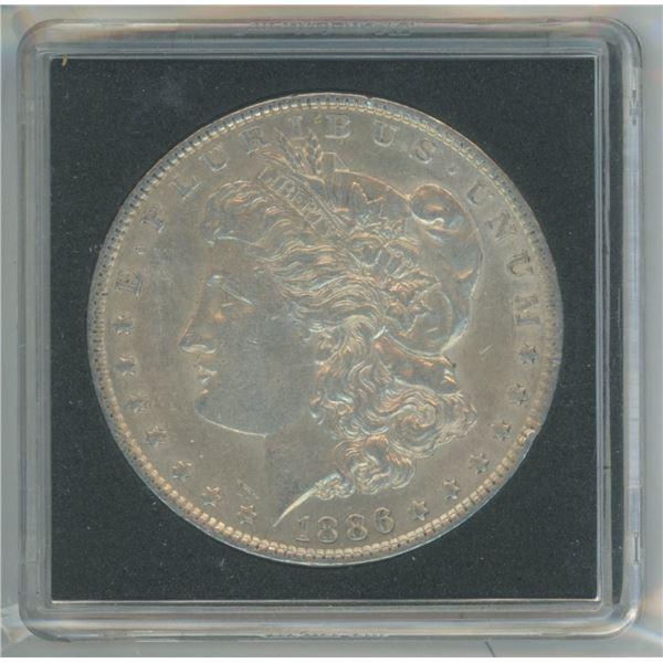 1886 90% Silver Morgan Dollar