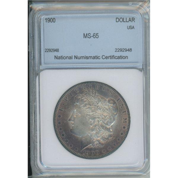 1900 MS-65 Morgan Dollar - Nice Toning
