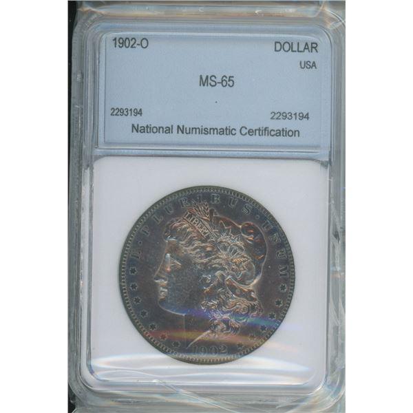 1902-0 MS-65 Silver Morgan Dollar