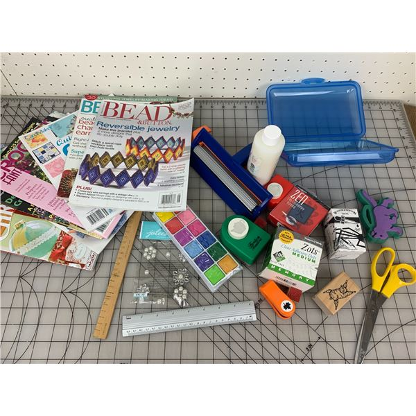 CRAFT RELATED AND MAGAZINES