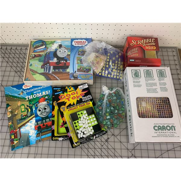 TOYS PUZZLES AND GAMES RELATED