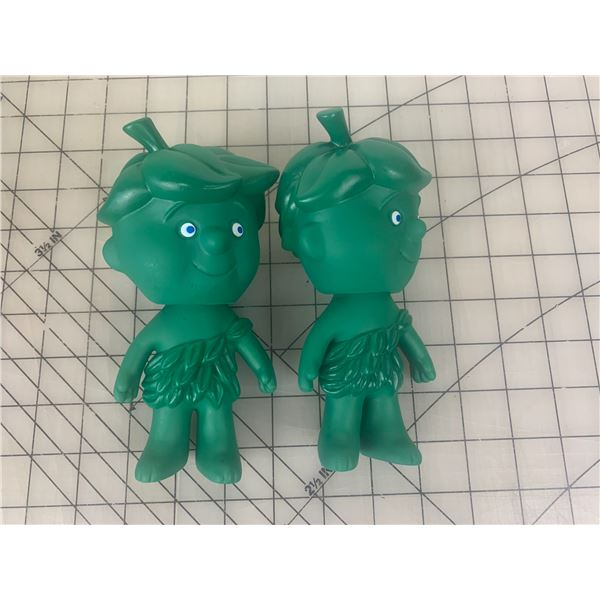 VINTAGE PILLSBURY LIL SPROUT JOLLY GREEN GIANT TOYS