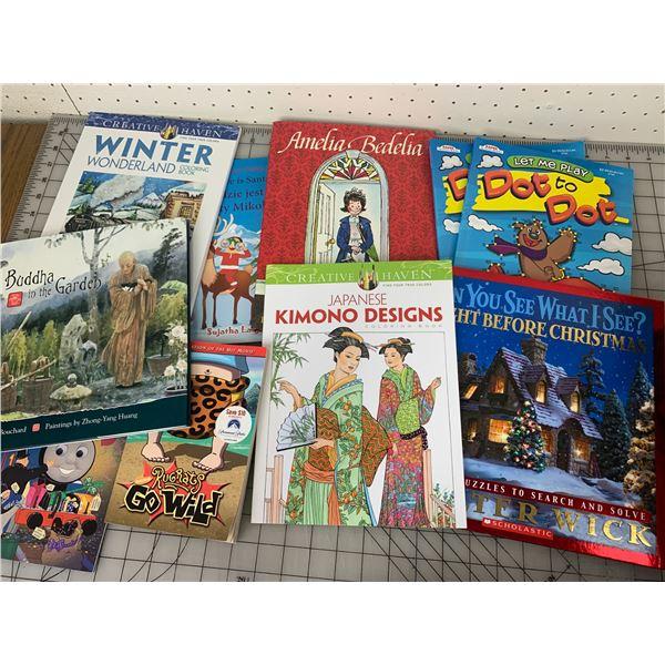 LOT OF VARIOUS KIDS BOOKS LIKE NEW