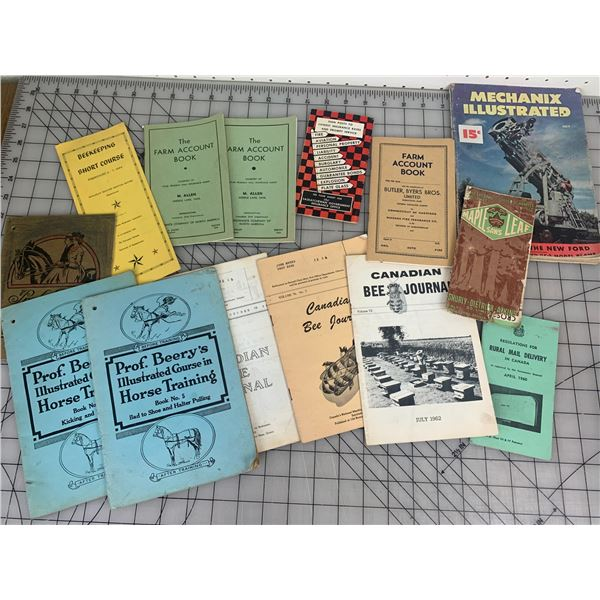 MISC OLD PAPER LOT