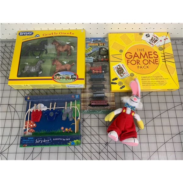 LOT OF TOYS GAMES ETC