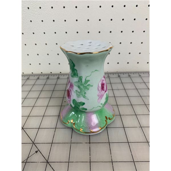 ANTIQUE PORCELAIN HAT PIN STAND