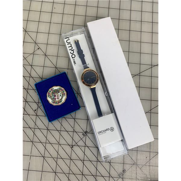 WATCH AND PLATE PIN