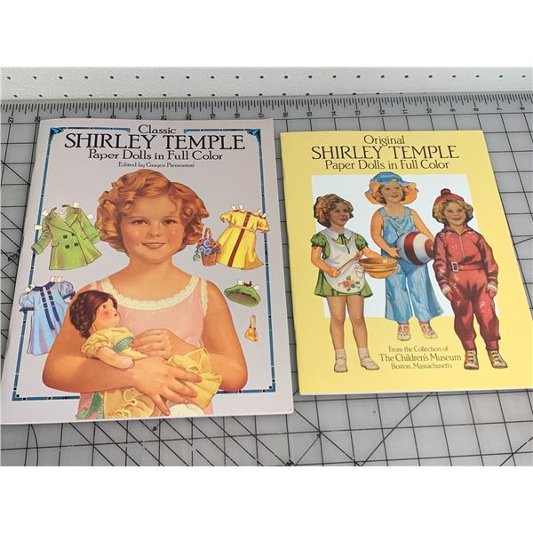 SHIRLEY TEMPLE PAPER DOLL BOOKS