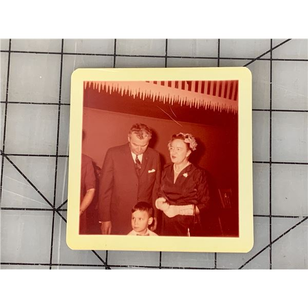 ORIGINAL PHOTOGRAPH OF JOHN DIEFENBAKER AND WIFE