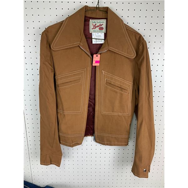 VINTAGE POLYESTER JACKET SMALL?