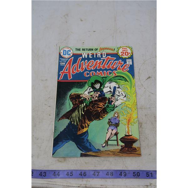 Weird Adventure Comics, Return of Aquaman, 20 cents Oct 1974