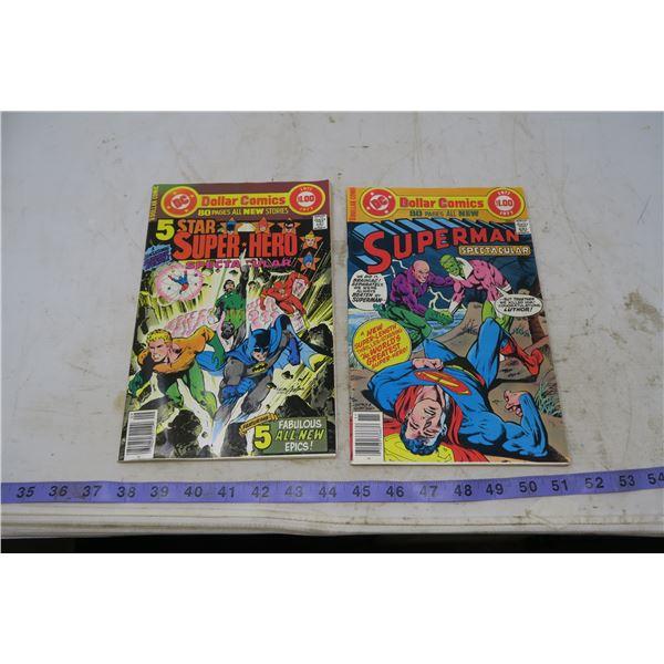 Lot Special Series 5 Star Spectacular 1977 & Superman Spectacular 1977 $1.00