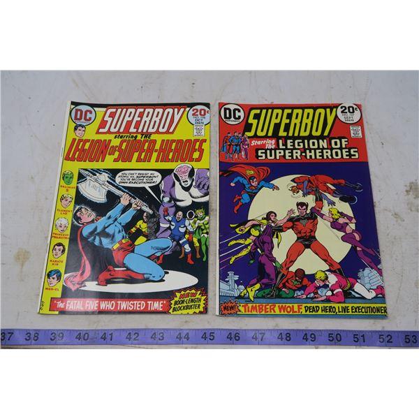 Lot Superboy 20 cent comic 1973