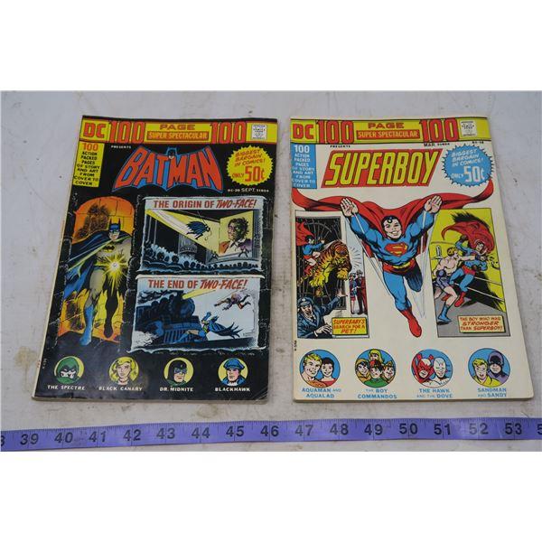 Lot Super Spectacular - Superboy, Batman, 50 cent 1973
