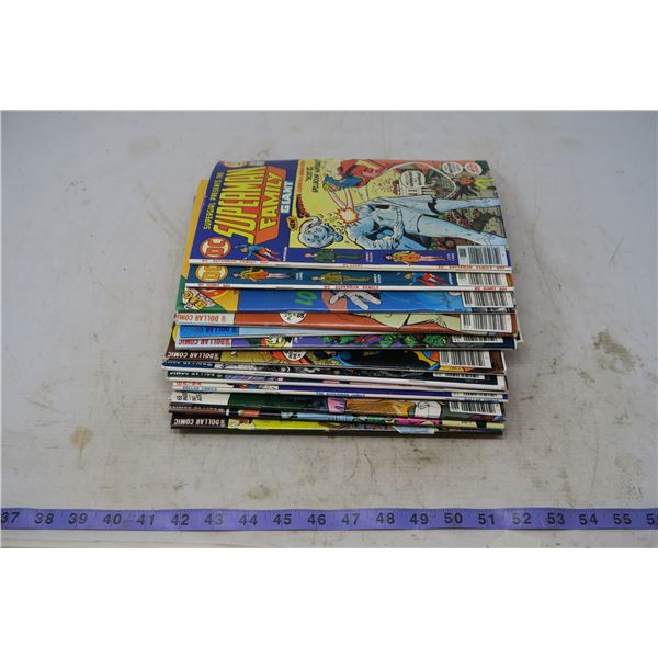Lot Superman Family (two 50 cents, rest $1.00)