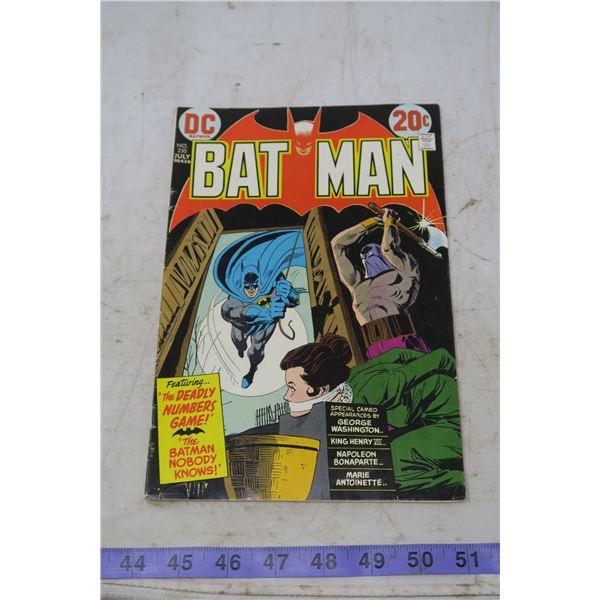 Batman 20 cent, 1973