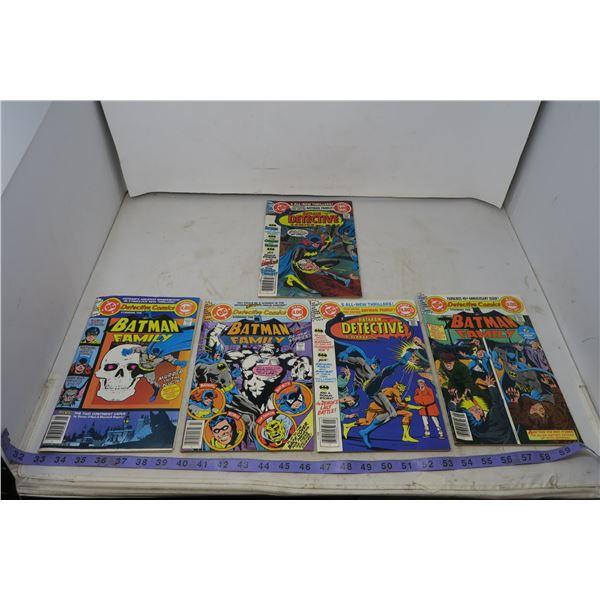 Detective Comic, Batman and Batman Family, $1.00, 1978 to 1979
